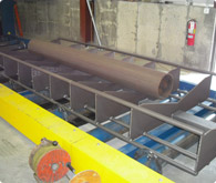 Cleaning of Pipe for the Centrifugal Casting Industry