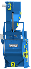 Bronco 3.5 Cubic Foot Tumble Blast Machine