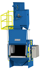 Bronco 14 Cubic Foot Tumble Blast Machine