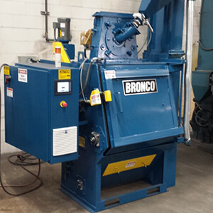 – SOLD – Bronco 3.5 CU Tumble Blaster with Variable Frequency Drive