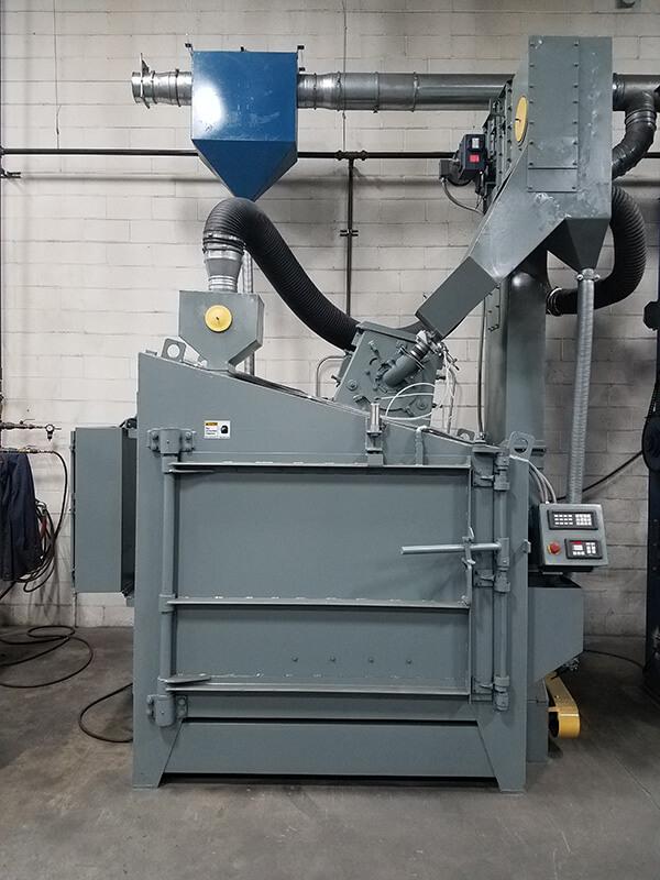 Sold Wheelabrator 4 Swing Table Industrial Associates